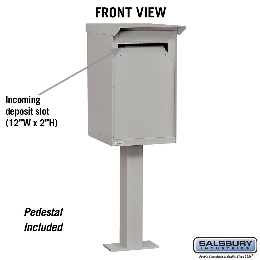 Pedestal Drop Boxes Regular Mailboxes Com