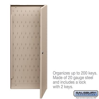 Key Cabinet - with (2) Keys
