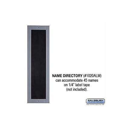 Name Directory - Aluminum