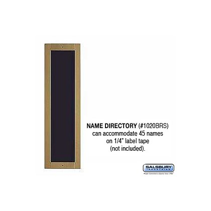 Name Directory - Brass