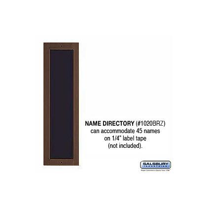 Name Directory - Bronze