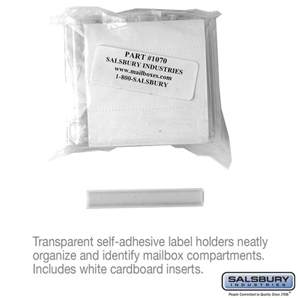 Label Holders  -  Bag of (50)