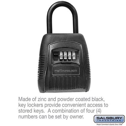 Key Locker - Shackle Style