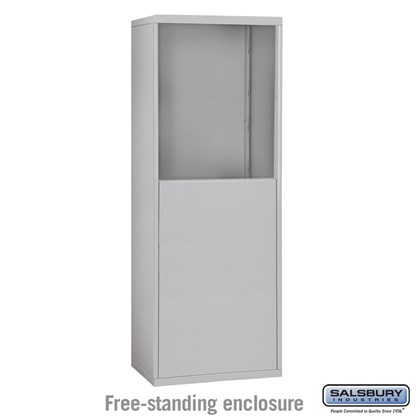 Free-Standing Enclosure for #19055-10, #19058-10, #19055-16, #19058-16, #19055-20,  #19058-20, #19155-10, #19158-10, #19155-16, #19158-16, #19155-20 and #19158-20 - Recessed Mounted Cell Phone Lockers