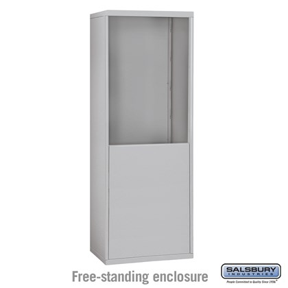 Free-Standing Enclosure for #19065-20, #19068-20, #19165-20 and #19168-20 - Recessed Mounted Cell Phone Lockers