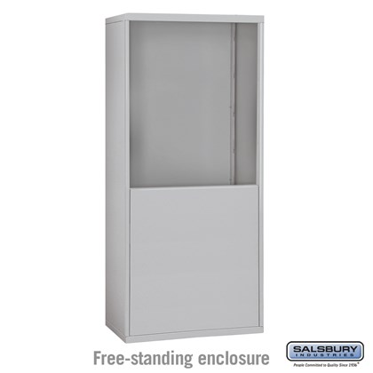 Free-Standing Enclosure for #19065-30, #19068-30, #19165-30 and #19168-30 - Recessed Mounted Cell Phone Lockers