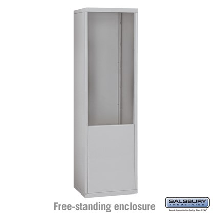 Free-Standing Enclosure for #19075-21, #19078-21, #19175-21 and #19178-21 - Recessed Mounted Cell Phone Lockers