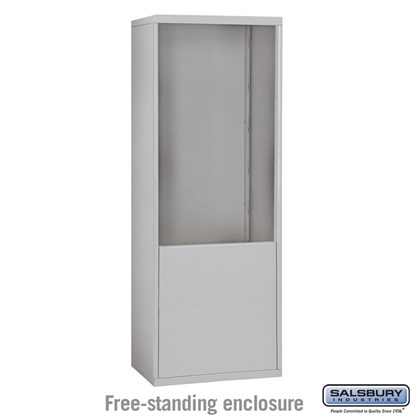 Free-Standing Enclosure for #19075-24, #19078-24, #19175-24 and #19178-24 - Recessed Mounted Cell Phone Lockers