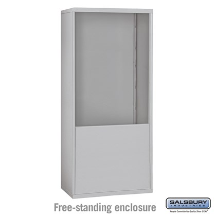 Free-Standing Enclosure for #19075-35, #19078-35, #19175-35 and #19178-35 - Recessed Mounted Cell Phone Lockers