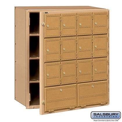 Americana Mailbox - 14 Doors - Front Loading