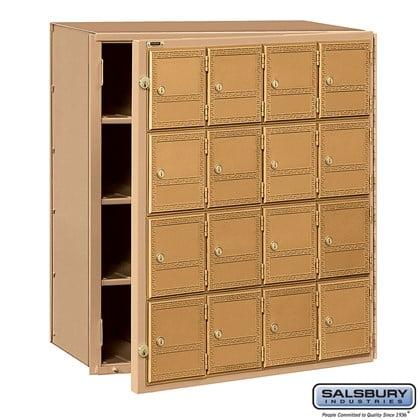 Americana Mailbox - 16 Doors - Front Loading