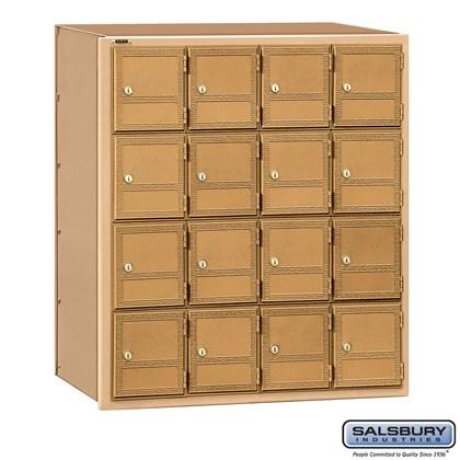 Americana Mailbox - 16 Doors - Rear Loading
