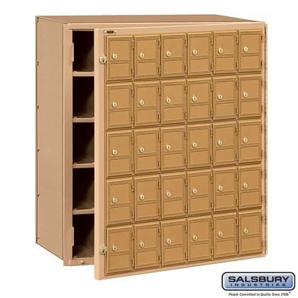 Americana Mailbox - 30 Doors - Front Loading