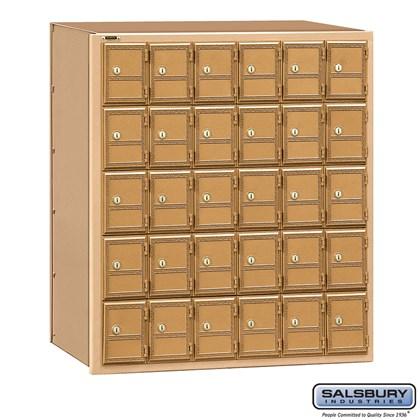 Americana Mailbox - 30 Doors - Rear Loading