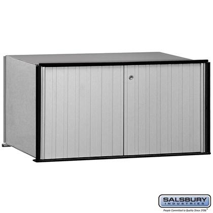 Aluminum Mailbox - 1 Door - Rack Ladder System