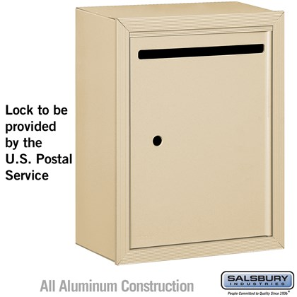 Letter Box - Standard - Surface Mounted - Sandstone - USPS Access