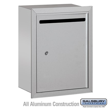 Letter Box - Standard - Recessed Mounted - Private Access