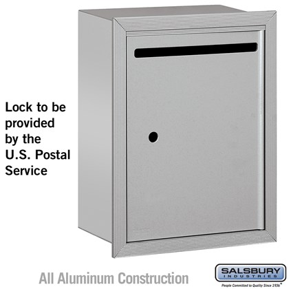Letter Box - Standard - Recessed Mounted - USPS Access