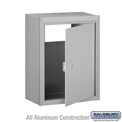 Receptacle - Option for Mail Drop - Aluminum