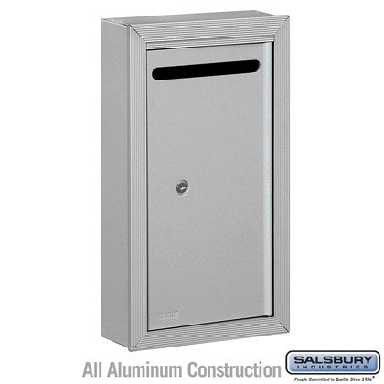 Letter Box - Slim - Surface Mounted - Private Access