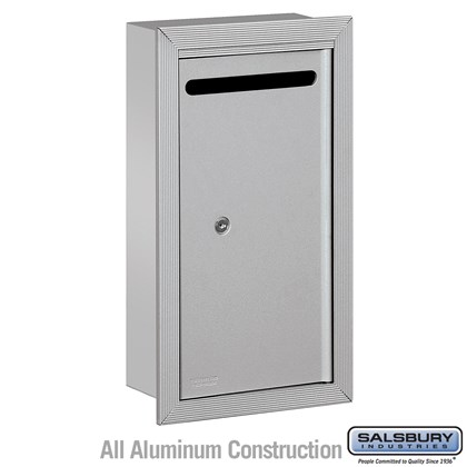 Letter Box - Slim - Recessed Mounted - Private Access
