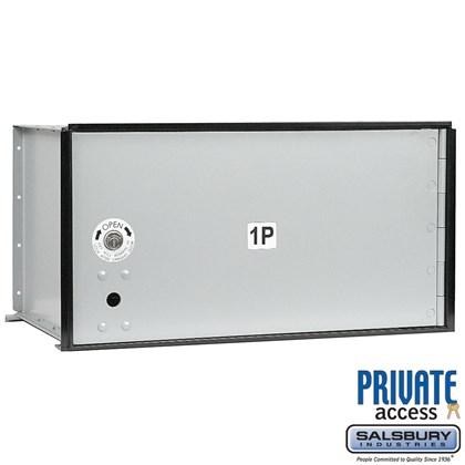 Aluminum Parcel Locker (Includes Master Commercial Lock) - 1 Door - Private Access