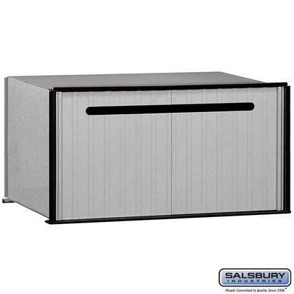 Aluminum Drop Box - 1 Compartment
