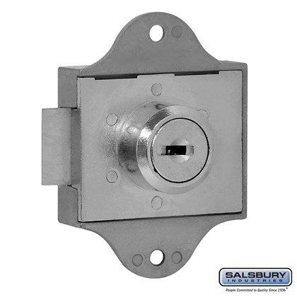 Spring Latch Lock for Aluminum Mailbox Door - with (2) Keys
