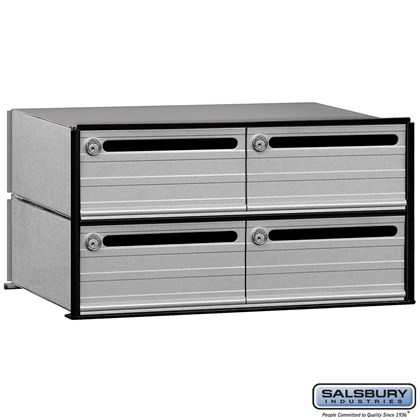 Data Distribution System Aluminum Box - 4 Doors