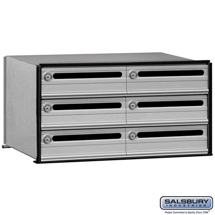 Data Distribution System Aluminum Box - 6 Doors