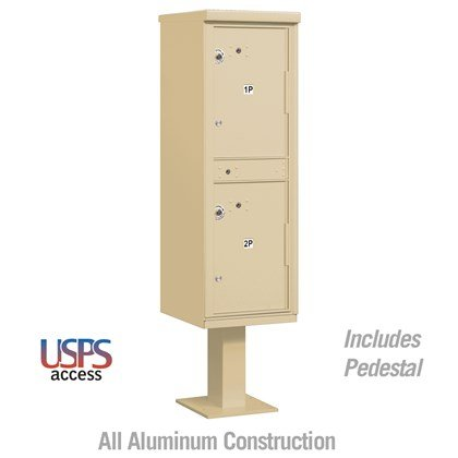 Outdoor Parcel Locker (Includes Pedestal) - USPS Access