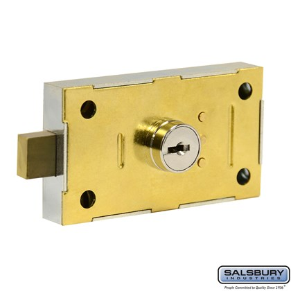 Master Commercial Lock - for 4C Pedestal Mailbox, Pedestal Collection Box and Parcel Locker - with (2) Keys