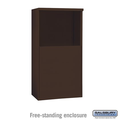Free-Standing Enclosure - for 3706 Double Column Unit - Bronze