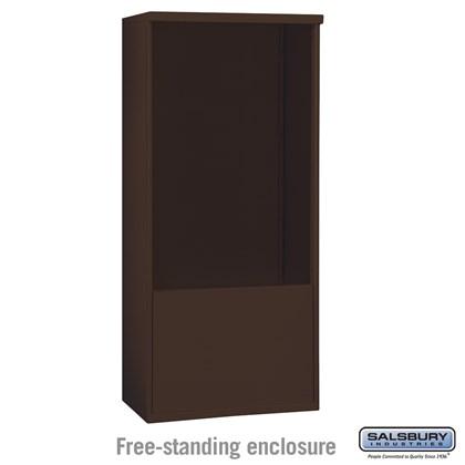 Free-Standing Enclosure - for 3712 Double Column Unit - Bronze