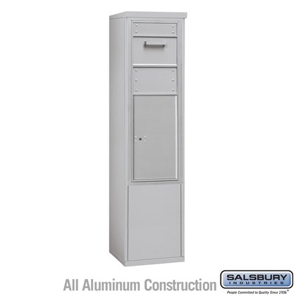 Custom Free-Standing 4C Horizontal Collection Box (Includes 3712S-1C and 3912S Enclosure) - 12 Door High Unit (69-1/4 Inches) - Single Column - Front Access