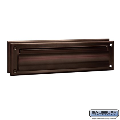 Mail Slot - Standard - Magazine Size - Antique Finish