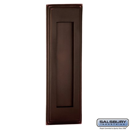 Mail Slot - Vertical - Antique Finish