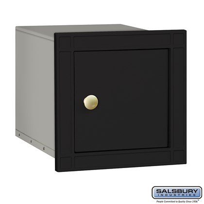 Cast Aluminum Column Mailbox - Non-Locking - Plain Door