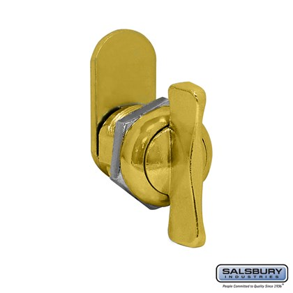 Thumb Latch - Option for Locking Column Mailbox and Modern Mailbox - Gold Finish