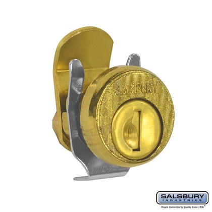 Lock - Standard Replacement - for Locking Column Mailbox and Modern Mailbox - with (2) Keys - Gold Finish
