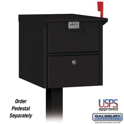 Roadside Mailbox - Black