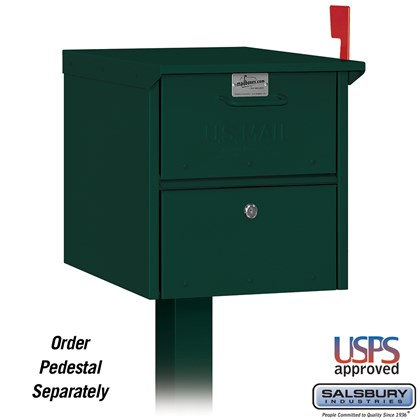 Roadside Mailbox - Green