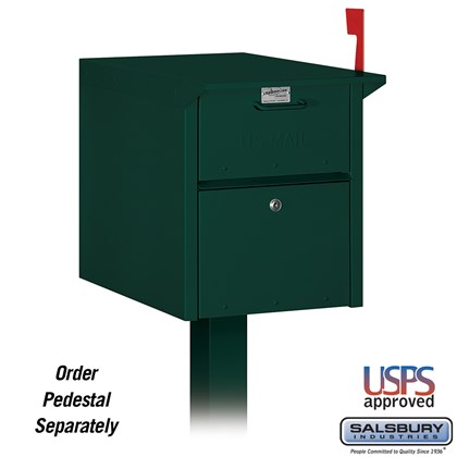 Mail Chest - Green