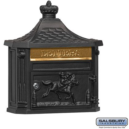 Victorian Mailbox - Surface Mounted