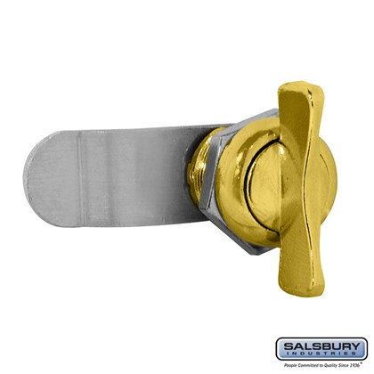Thumb Latch - Option for Victorian Mailbox - Gold Finish
