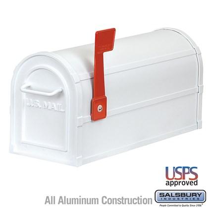 Heavy Duty Rural Mailbox - White