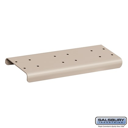 Spreader - 2 Wide - for Rural Mailboxes and Townhouse Mailboxes - Beige