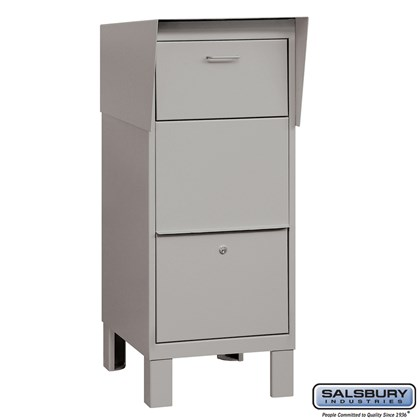 Courier Box - Gray