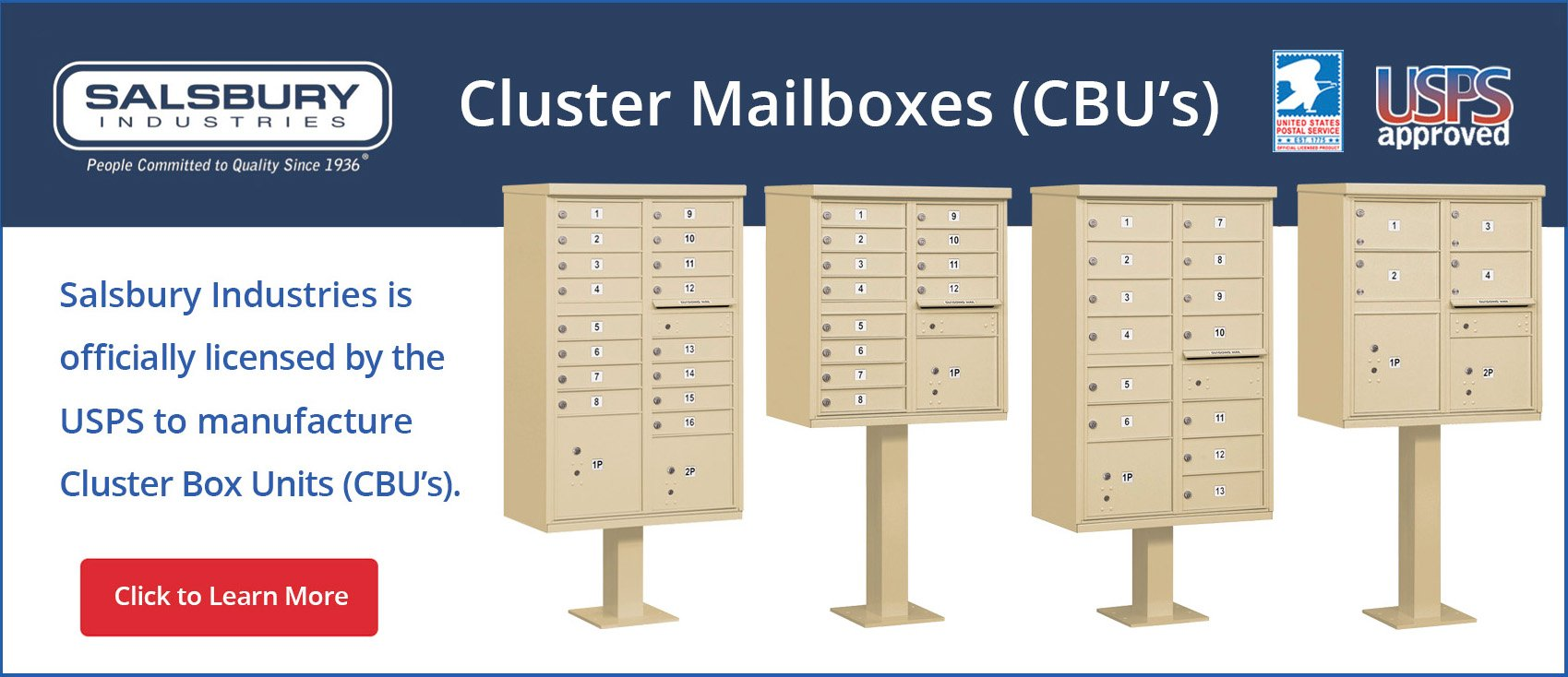 Bronze Cluster Mailboxes